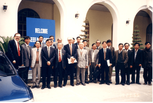 IEEE and the Radio-Electronics Association of Vietnam