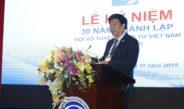 Diễn văn của ban chấp hành khóa VI tại lễ kỷ niệm 30 năm hội Vô tuyến – Điện tử Việt Nam