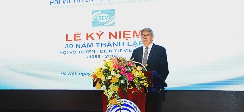 Lễ kỷ niệm 30 năm thành lập Hội Vô tuyến – Điện tử Việt Nam
