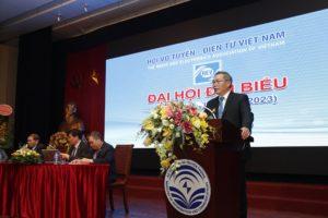 Chủ tịch nhiệm kỳ VII phát biểu nhận nhiệm vụ
