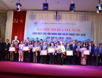Liên hiệp các Hội Khoa học và Kỹ thuật Việt Nam: Đẩy mạnh phong trào thi đua yêu nước giai đoạn 2020-2025
