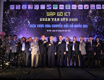 Gặp gỡ ICT đầu xuân 2021: Chuyển đổi số Quốc gia khơi dậy khát vọng Việt Nam hùng cường